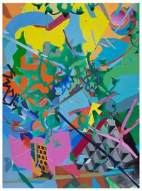 Pattern XIII——Ottoman's Peta——Painting 1 纹样XIII—奥斯曼的花瓣—绘画1 by Bi Rongrong contemporary artwork painting