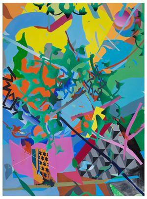 Pattern XIII——Ottoman's Peta——Painting 1 纹样XIII—奥斯曼的花瓣—绘画1 by Bi Rongrong contemporary artwork