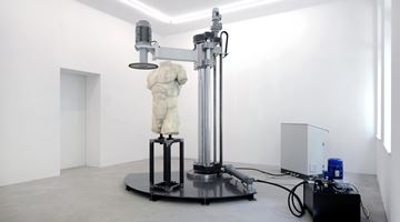 Contemporary art exhibition, Arcangelo Sassolino, Damnatio Memoriae at Rolando Anselmi, Berlin