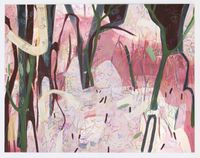 Blushing Woods by Janaina Tschäpe contemporary artwork works on paper, drawing
