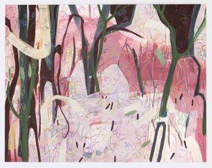 Blushing Woods by Janaina Tschäpe contemporary artwork