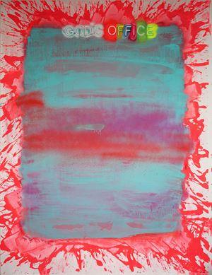 God's Office by Daniel González contemporary artwork