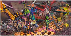Viechlast by Jonas Burgert contemporary artwork