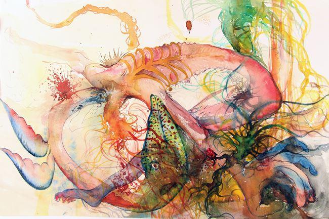 Super hybrid III by Priyantha Udagedara contemporary artwork