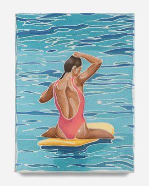 Between Sets by Adam De Boer contemporary artwork painting
