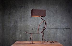 Domestication Lamp by Atelier Van Lieshout contemporary artwork