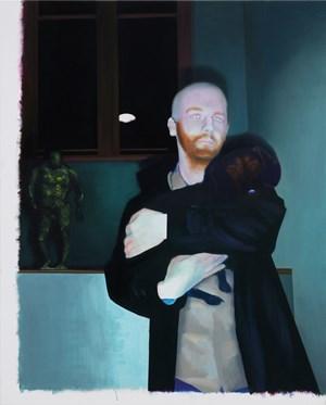 Der Heilige Severinus und der Heilige Aidan by Akos Birkas contemporary artwork
