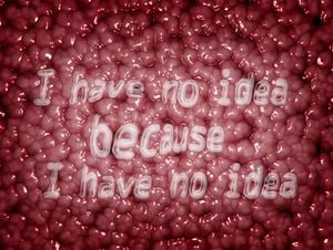 I have no idea because I have no idea by Insane Park contemporary artwork