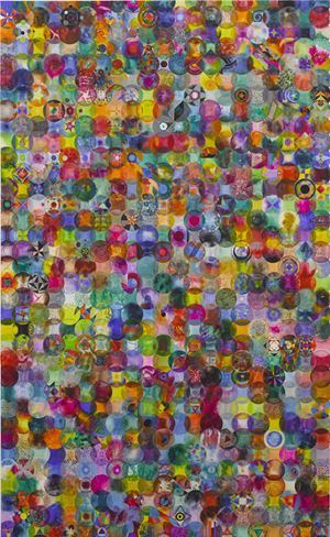 792 Overlapping Color Balls 792个有重叠的彩色圆球 by Wu Jian'an contemporary artwork