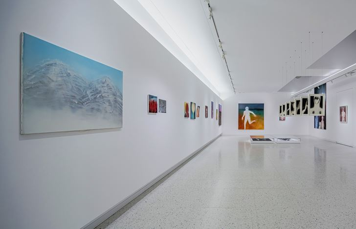 Exhibition view: Miriam Cahn, LEIB/BODY, Winsing Art Place, Taipei (6 March–14 June 2021).Courtesy Winsing Art Place.