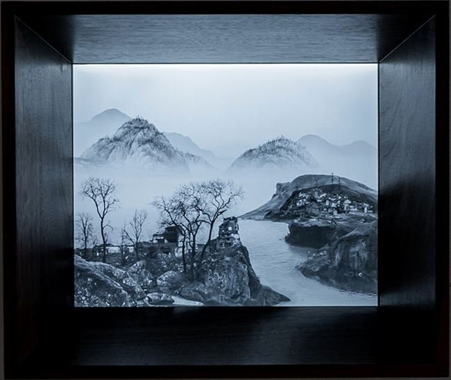 The Immemorial - Other Shore 3-10 by Yang Yongliang contemporary artwork
