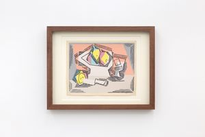 Verre et compotier by Pablo Picasso contemporary artwork