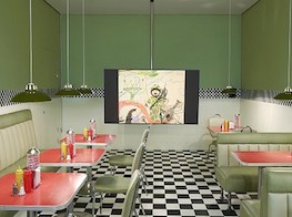 London exhibitions: black rights on both sides of the Atlantic and Middle Eastern spaceship diners