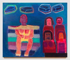 Audience by Katherine Bradford contemporary artwork