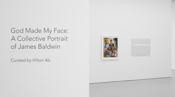 Contemporary art exhibition, Group Exhibiton, God Made My Face: A Collective Portrait of James Baldwin at David Zwirner, 19th Street, New York