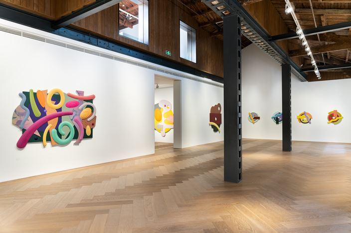 Exhibition view: Josh Sperling, Paradise, Perrotin, Shanghai (10 November 2020–16 January 2021). Courtesy the artist and Perrotin.Photo: Mengqi Bao.