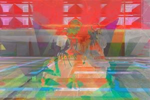 0521 by James Welling contemporary artwork
