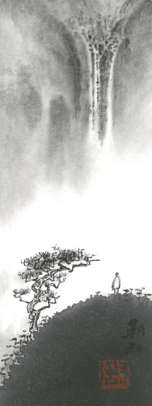 Appreciating Waterfall by Kan Tai Keung contemporary artwork