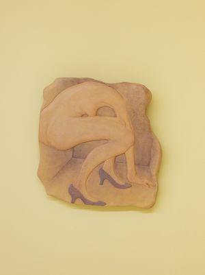 Tilted by Liao Wen contemporary artwork sculpture