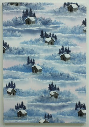 Mountain Cabin (Cool as ice) by Neil Raitt contemporary artwork