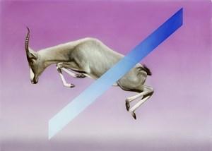 Gemsbok by Sam Leach contemporary artwork