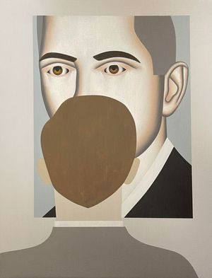 Looking at Agent by Gavin Hurley contemporary artwork