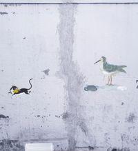 Stray Cat by Honggoo Kang contemporary artwork mixed media