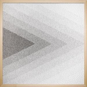 Drawing (Pins) by Tara Donovan contemporary artwork
