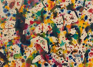 Untitled 2 by Sam Francis contemporary artwork
