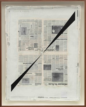 Perspective Study by Mark Manders contemporary artwork