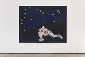 En una oscuridad cósmica, growth ruptures between the cracks by Felipe Baeza contemporary artwork