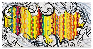 Mindscape 25 by Ryan McGinness contemporary artwork