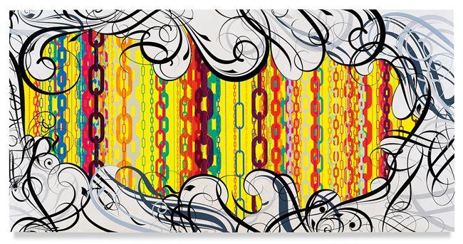 Mindscape 25 by Ryan McGinness contemporary artwork