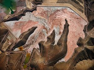 Morenci Mine #1, Clifton, Arizona, USA by Edward Burtynsky contemporary artwork