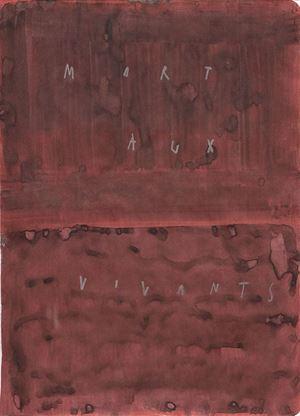 mort aux vivants by Arpaïs Du Bois contemporary artwork