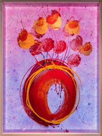 Ikebana Glass on Glass by Dale Chihuly contemporary artwork sculpture