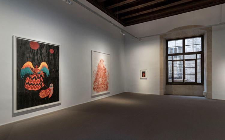 Exhibition view: Rui Moreira,CINZAS E MEL, Galería Pelaires, Palma (19 March–31 July 2020). CourtesyGalería Pelaires.