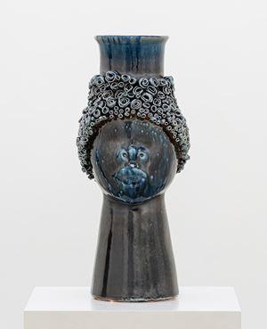 Face Jug (COBALT) by Simone Leigh contemporary artwork