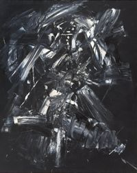 Nule by Antonio Saura contemporary artwork painting