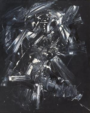 Nule by Antonio Saura contemporary artwork