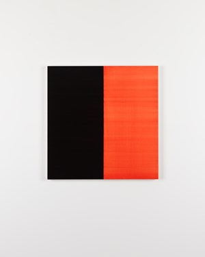 Untitled No.1 Lamp Black by Callum Innes contemporary artwork
