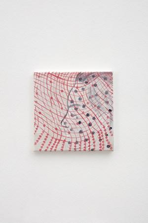 Boy in glitter by Katja Seib contemporary artwork