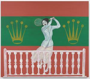 Roland Garros by Honor Titus contemporary artwork