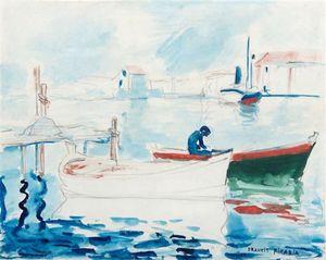 Sans titre ou Le port de Saint Raphäel by Francis Picabia contemporary artwork