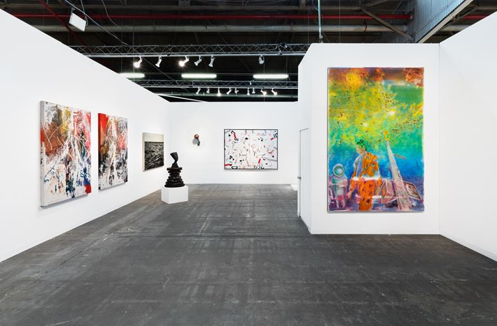 Ben Brown Fine Arts,The Armory Show, New York (5–8 March 2020). Courtesy Ben Brown Fine Arts.