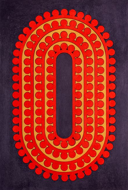Code 30 by Lubna Chowdhary contemporary artwork