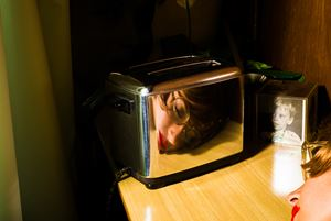 Toaster (Self-portrait) by Tania Franco Klein contemporary artwork