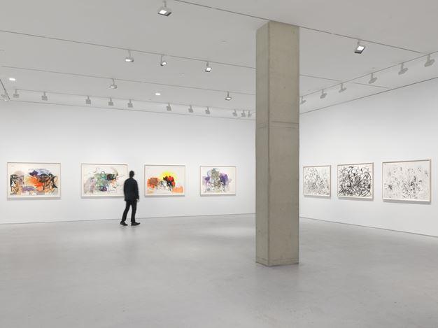 Exhibition view: George Condo, Internal Riot, Hauser & Wirth, 22nd Street, New York ( November 2020–23 January 2021). © George Condo. Courtesy the artist and Hauser & Wirth. Photo: Dan Bradica.