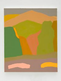 Untitled by Etel Adnan contemporary artwork painting