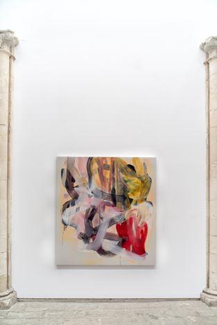 Liliane Tomasko, fabric of dreams (2019). Exhibition view: Liliane Tomasko,Amygdala, KEWENIG, Palma (27 June–14 September 2019). Courtesy KEWENIG. Photo: Bruno Daureo.